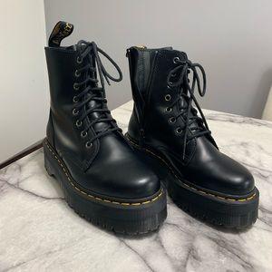 Dr. Martens black JADON COMBAT boots NEW size 6
